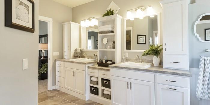 Legacy Bathroom Vanity White 2