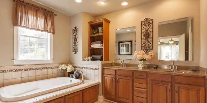 Legacy Bathroom Vanity Stained Mediun