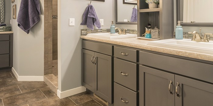 Legacy Bathroom Vanity Gray