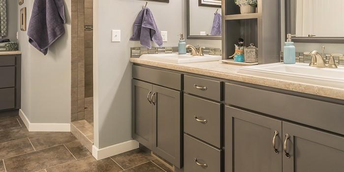 Legacy Bathroom Vanity Gray