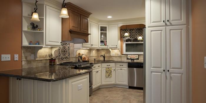 Linen Ginger Kitchen